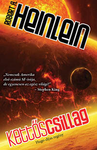 legjobb sci fi könyvek - Robert Heinlein Kettőscsillag