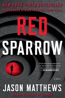 best hriller books - jennifer lawrence red sparrow